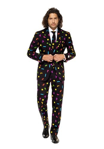 Mens OppoSuits Tetris Suit