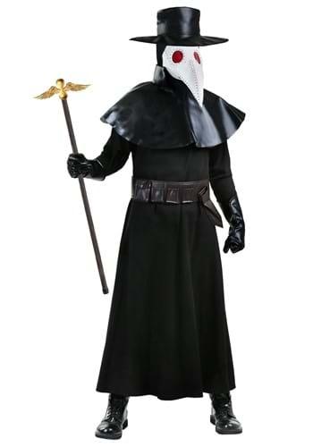Adult Plus Size Plague Doctor Costume 1