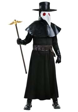Adult Plus Size Plague Doctor Costume 1