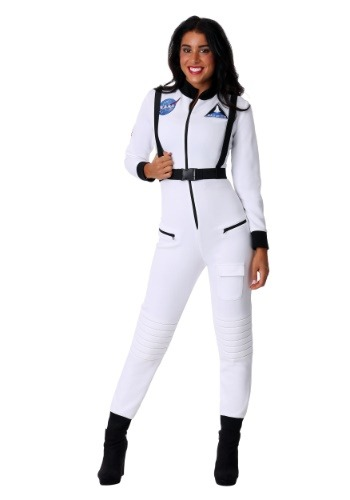 Click Here to buy White Astronaut Womens Costume from HalloweenCostumes, CDN Funds