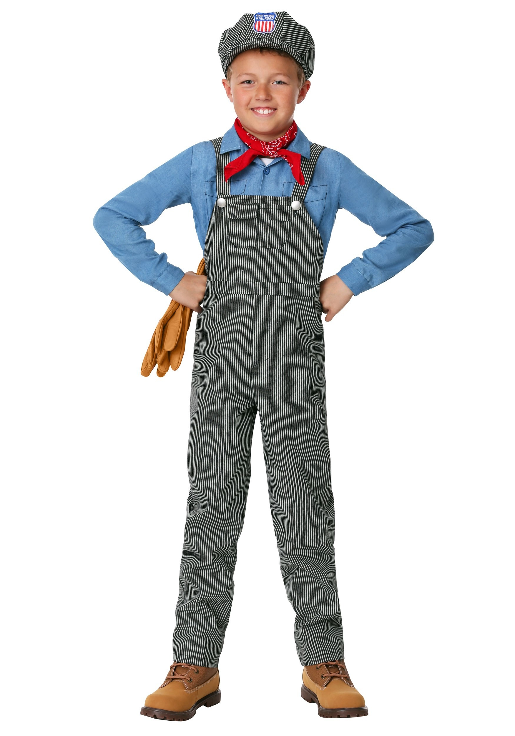 43b52c9651 Train Engineer Costume for Children