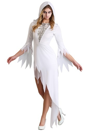 Click Here to buy Ghost Babe Womens Costume from HalloweenCostumes, CDN Funds