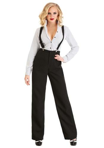 Gangster Lady Costume for Women