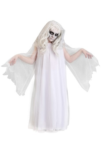 Girl's Haunting Ghost Costume
