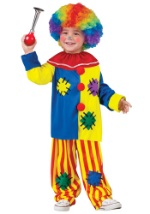 Toddler Big Top Clown Costume