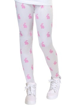 Girls Bunny Leggings