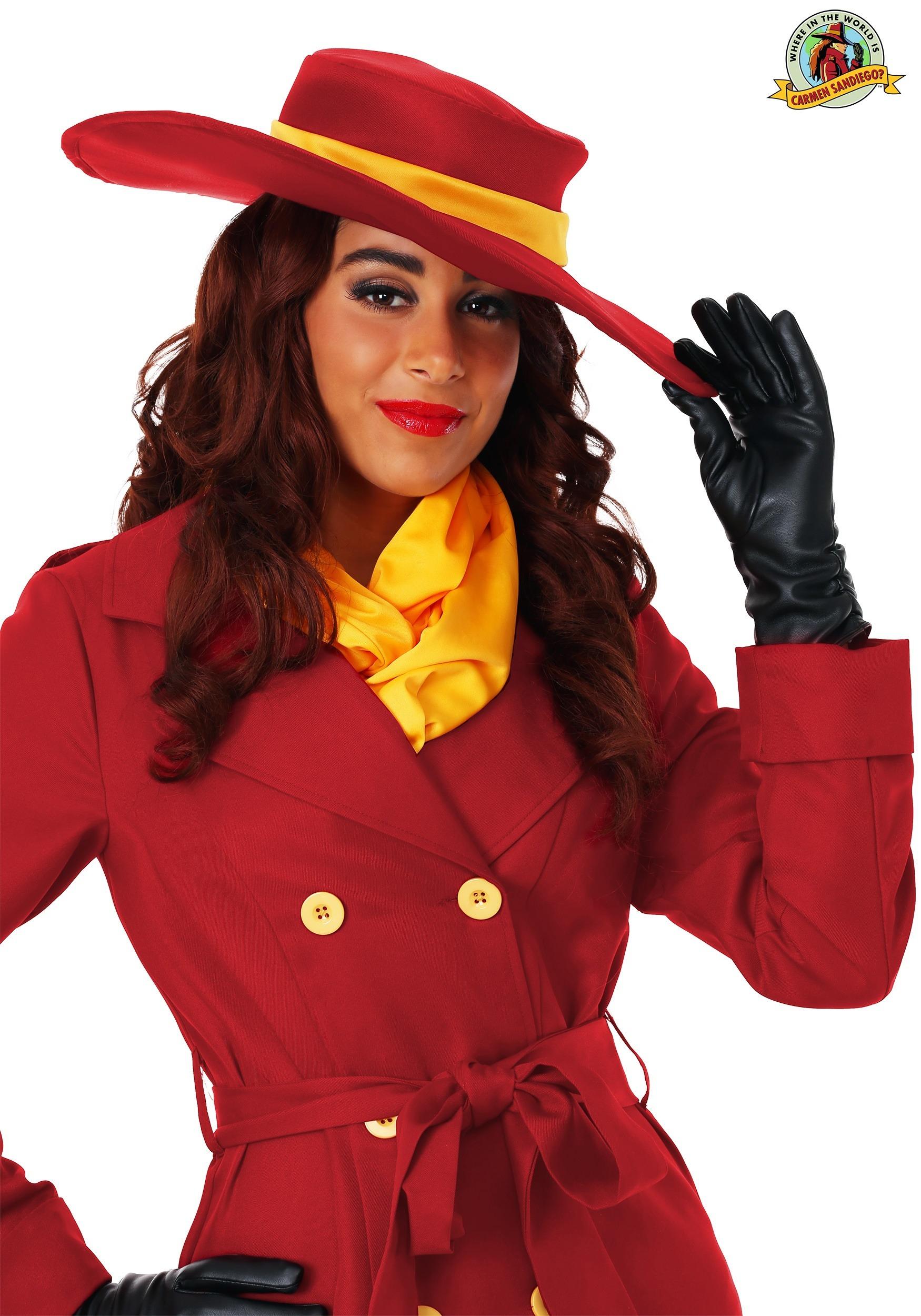 Adult Carmen Sandiego Wig Adult Carmen Sandiego Wig 35d3d6bc3d78