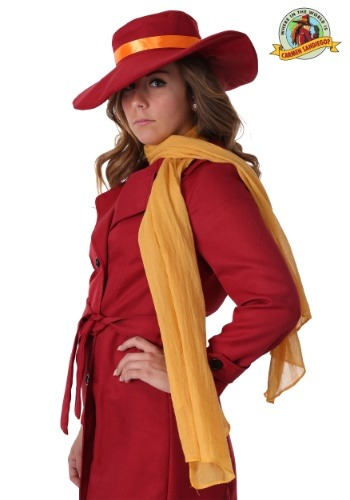 Carmen Sandiego Scarf Accessory update1