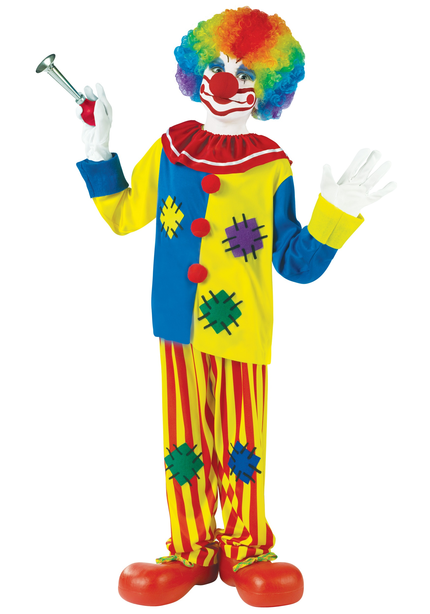 sc 1 st  Halloween Costumes & Child Big Top Clown Costume