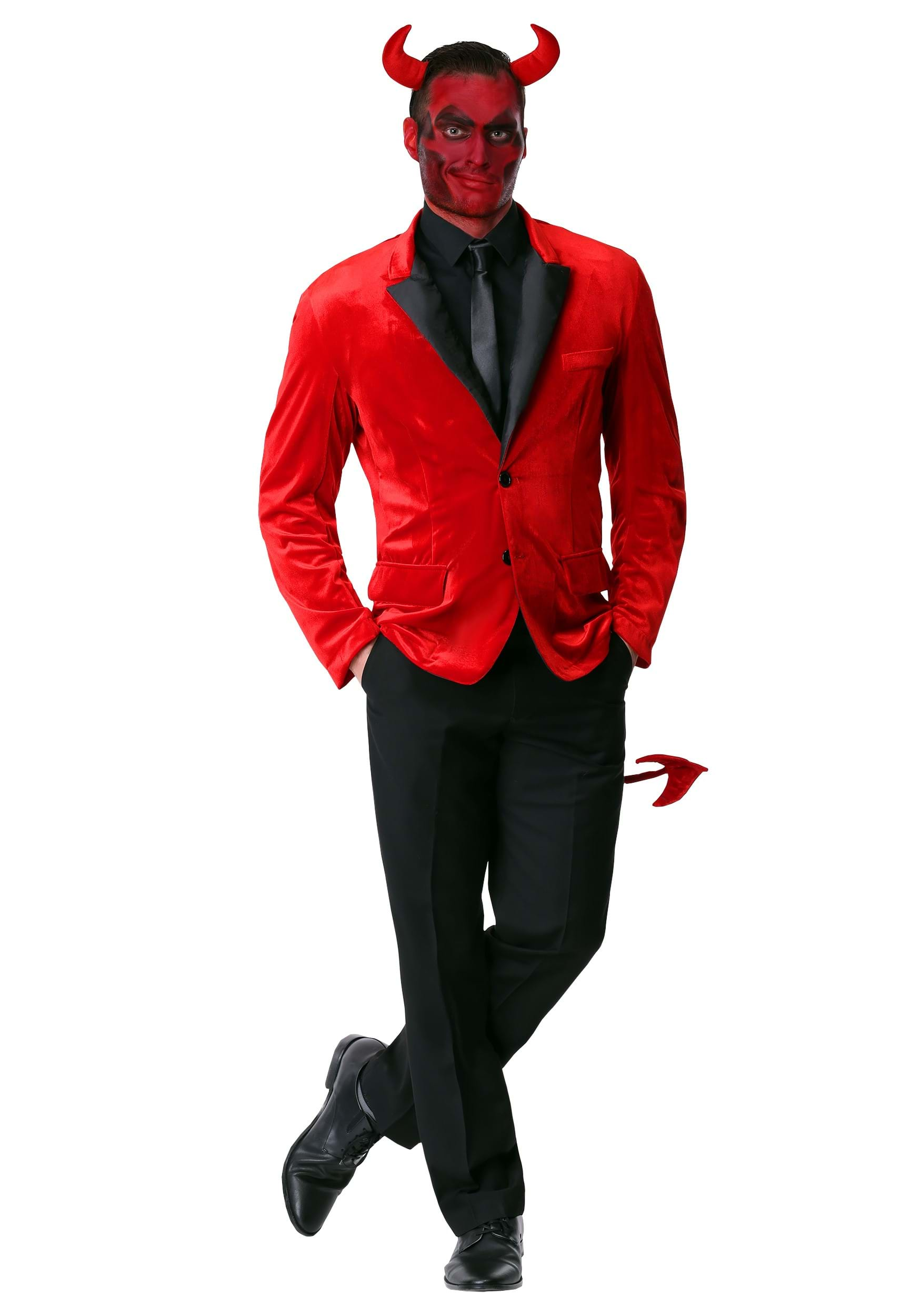Men\u0027s Dashing Devil Costume