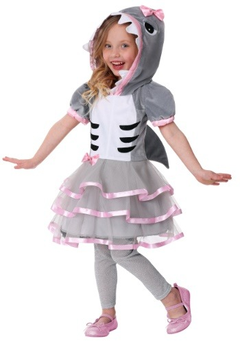 Toddler Girl's Shark Sweetie Costume