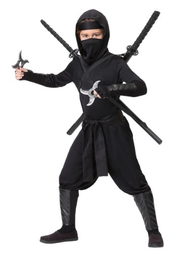 Child Stealth Shinobi Ninja Costume