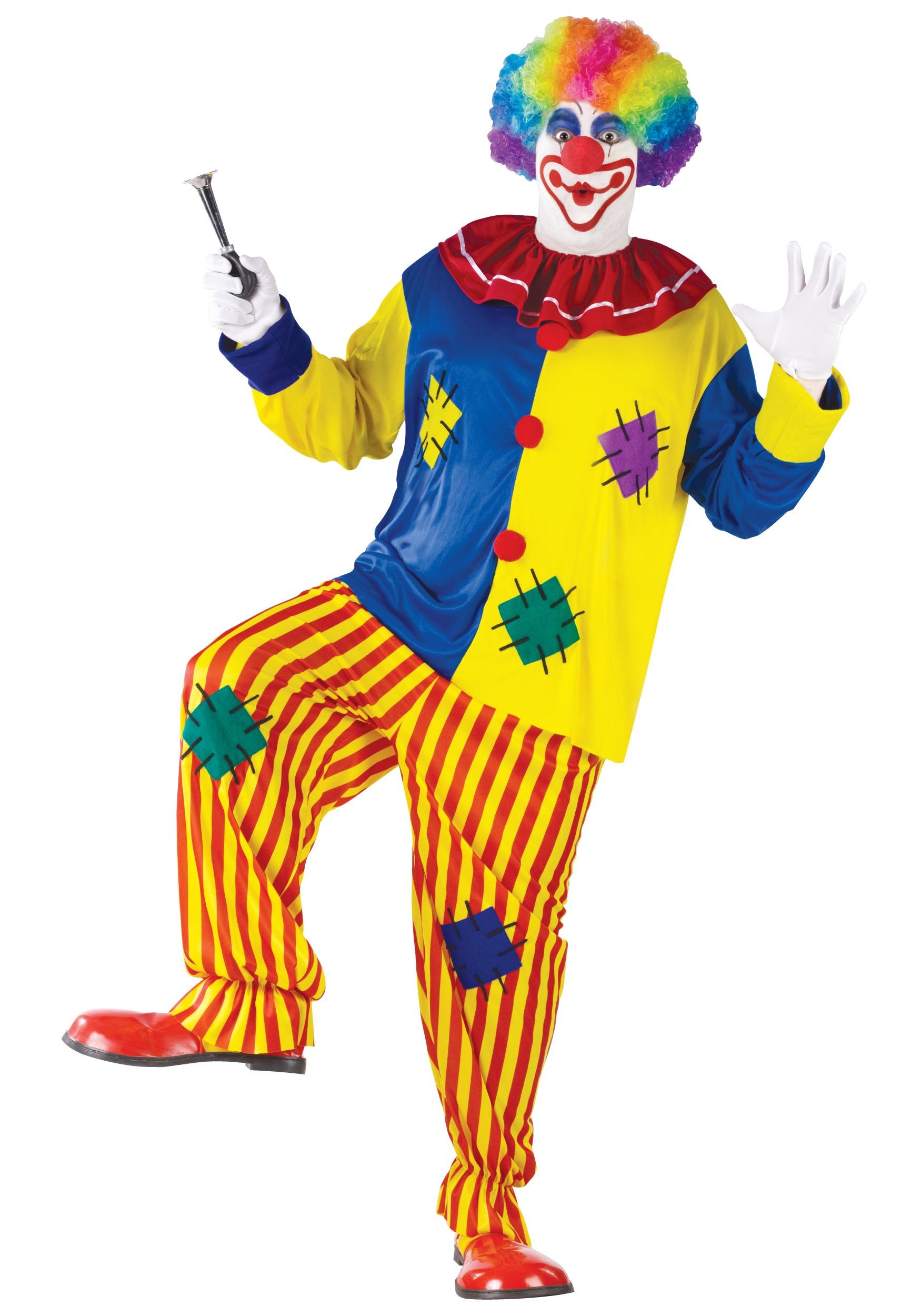 923b9ea979b Plus Size Big Top Clown Costume