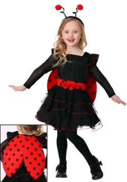 Toddler Girl's Sweet Ladybug Costume-update1