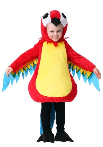 Toddler Squawking Parrot Costume
