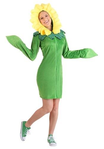Womens Flower Hoodie Dress