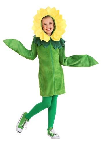 Girl's Flower Hoodie Dress2