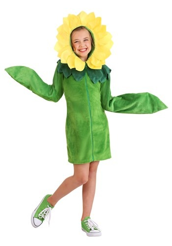 Flower Hoodie Dress for Girls