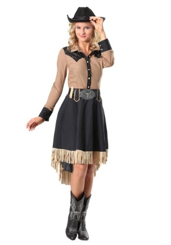 Click Here to buy Lasson Cowgirl Plus Size Womens Costume from HalloweenCostumes, CDN Funds