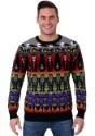 Classic Horror Monsters Fair Isle Halloween Sweater