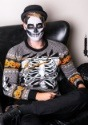 Ripped Open Skeleton Adult Ugly Halloween Sweater Update1 Al