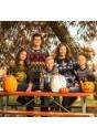 Pumpkin Patch Child Ugly Halloween Sweater alt3