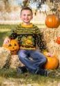Pumpkin Patch Child Ugly Halloween Sweater alt15