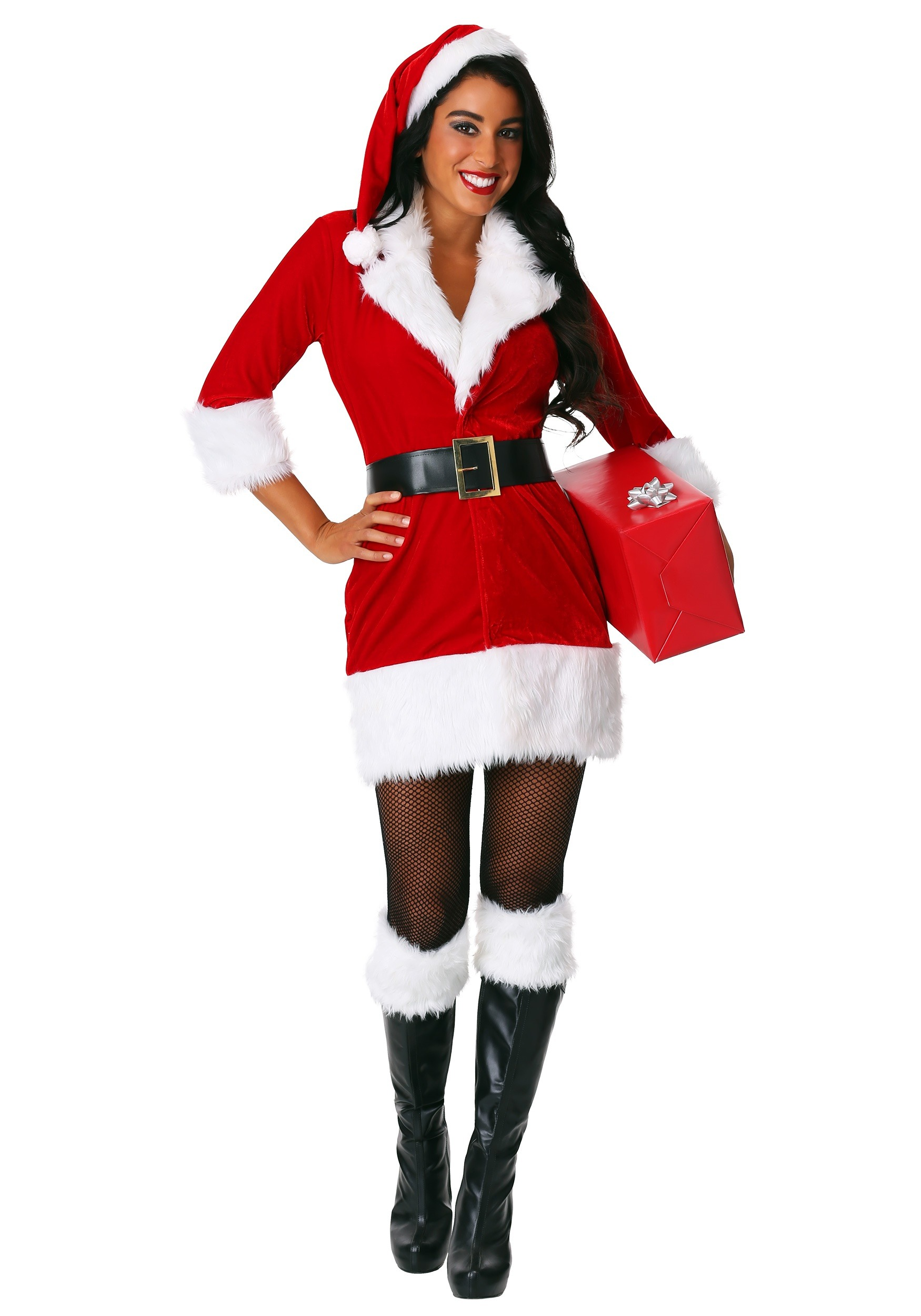 9bfd2e60642 Women's Secret Santa Costume