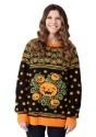 Pumpkin Patch Ugly Halloween Adult Sweater Update1 Alt2