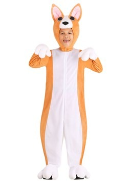 Kids Corgi Costume