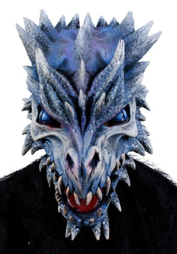 Image of Ice Dragon Mask for Adults