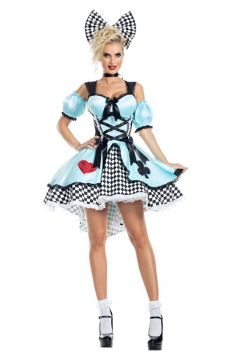 Flirtatious Alice Costume for Women