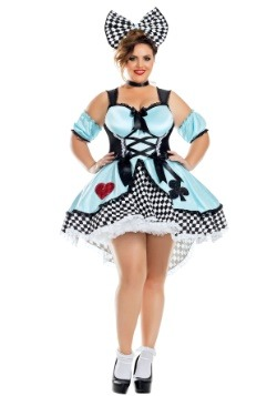 Flirtatious Alice Plus Size Women's Costume