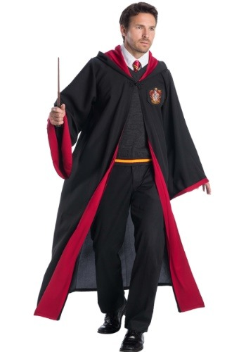 Click Here to buy Deluxe Gryffindor Student Costume for Adults from HalloweenCostumes, CDN Funds