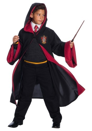 Child Deluxe Gryffindor Student Costume1