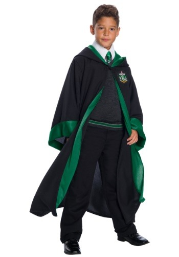 Deluxe Slytherin Student Costume for Kids