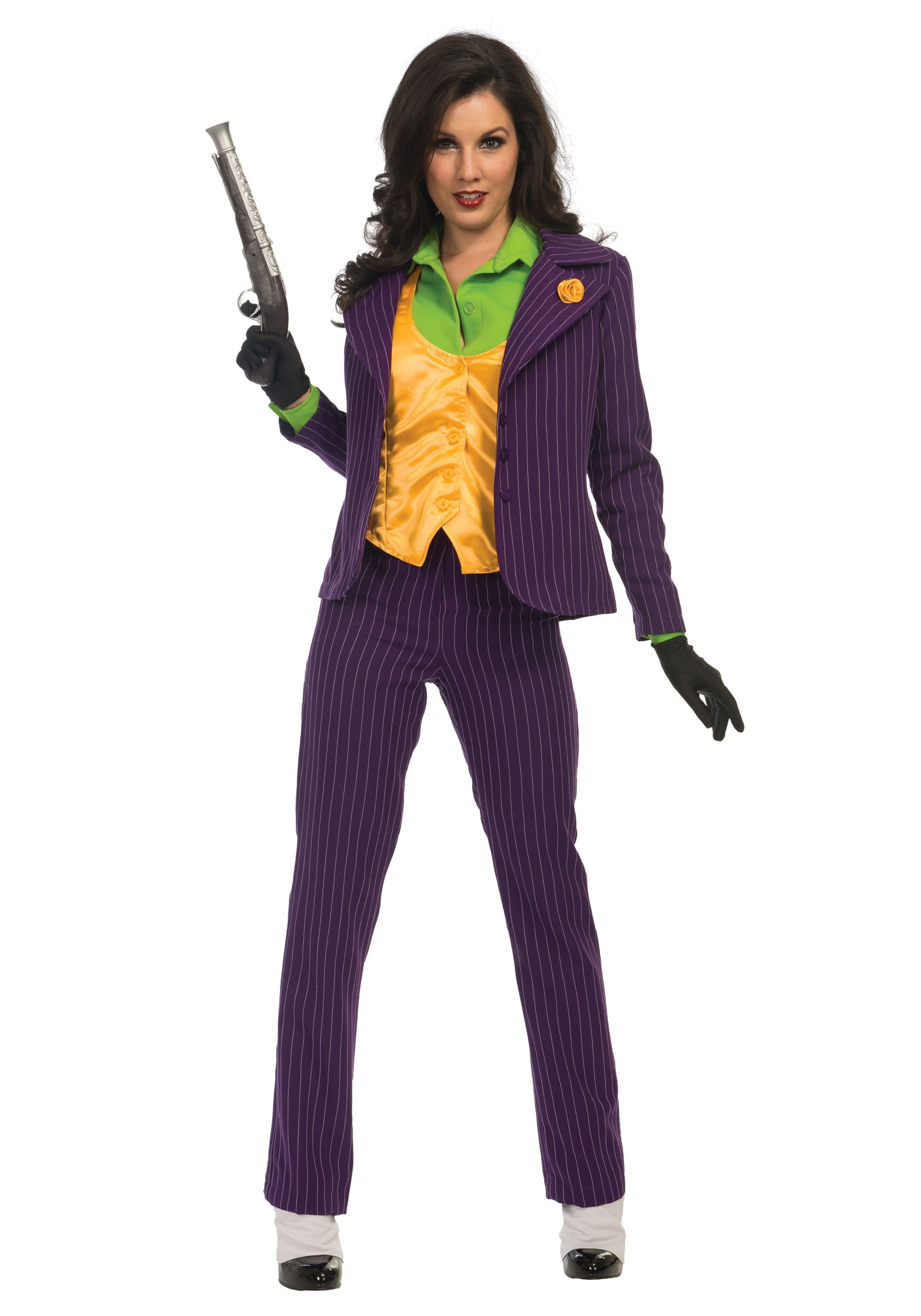 premium joker costume for women