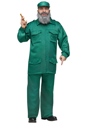 Click Here to buy Adult Fidel Costume from HalloweenCostumes, CDN Funds