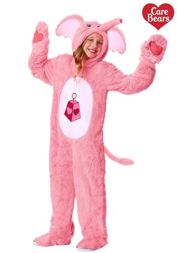 Click Here to buy Care Bears & Cousins Lotsa Heart Elephant Kids Costume from HalloweenCostumes, CDN Funds