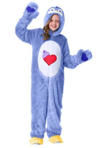 Click Here to buy Cozy Heart Penguin Kids care Bears Costume from HalloweenCostumes, CDN Funds