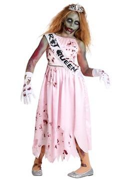 Girls Zombie Queen Costume