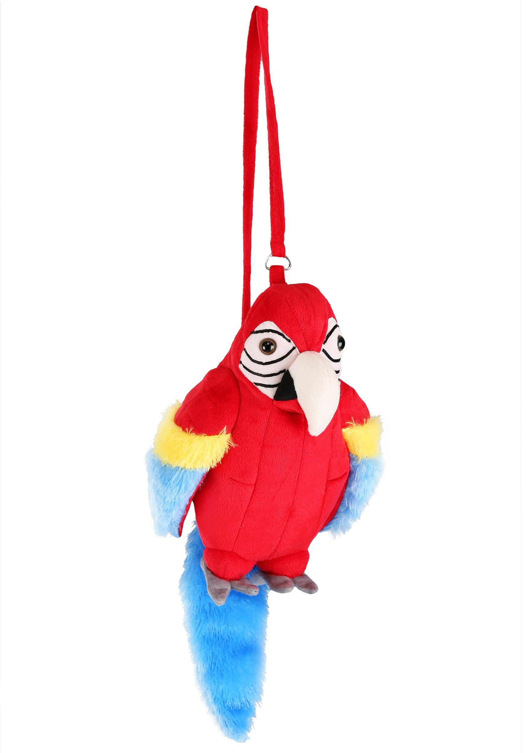 POLLY PARROT PIRATE WENCH PURSE HANDBAG HALLOWEEN COSTUME ACCESSORY