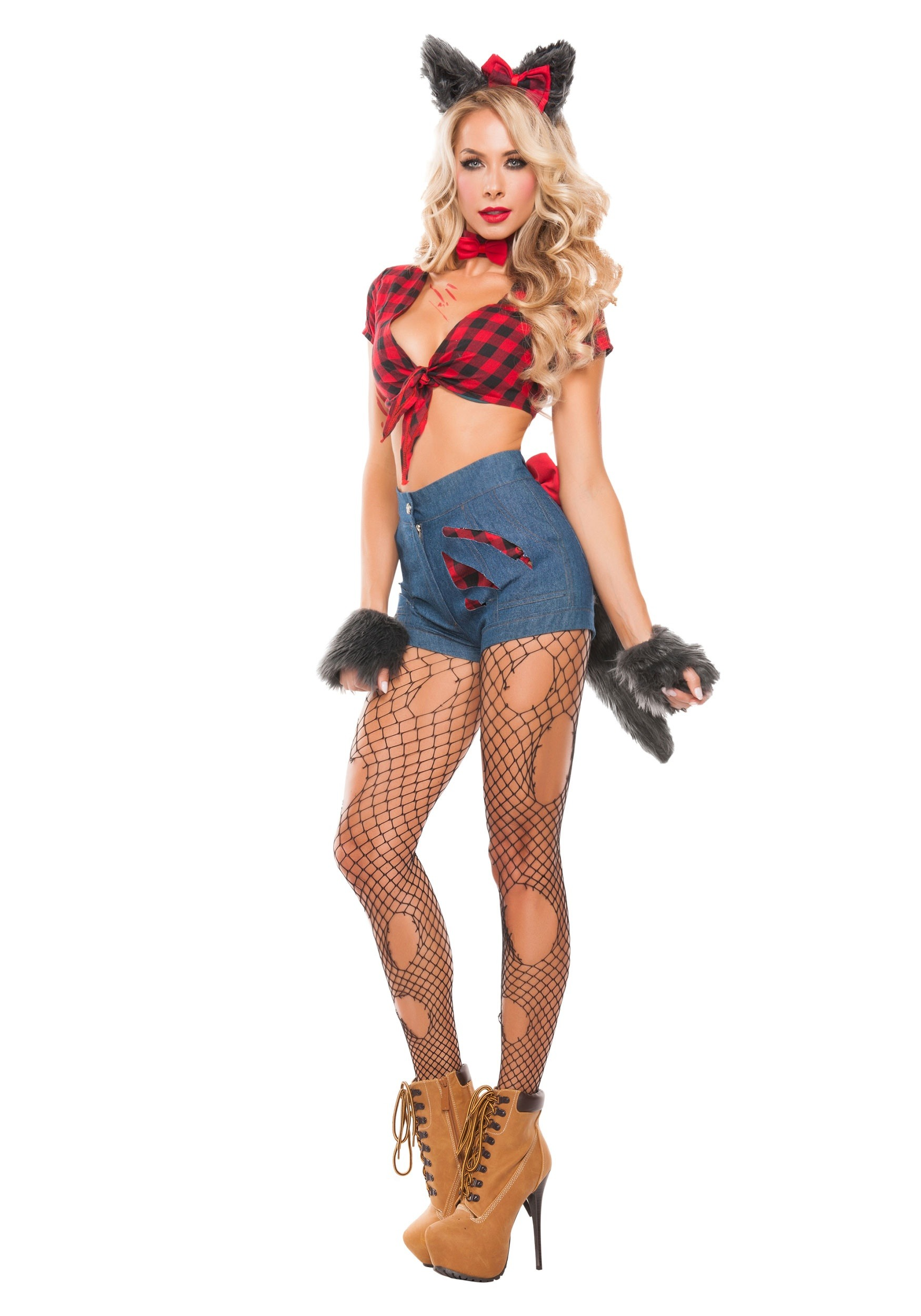 Womenu0027s Sexy Werewolf Costume  sc 1 st  Halloween Costumes & Sexy Werewolf Costume for Women