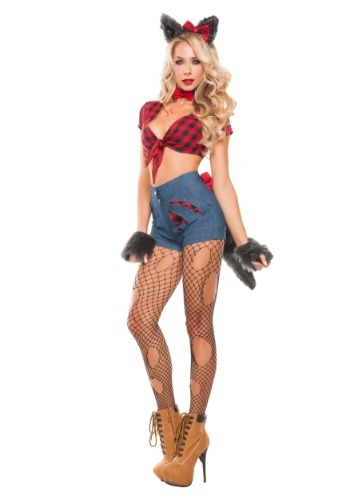 Click Here to buy Sexy Werewolf Womens Costume from HalloweenCostumes, CDN Funds