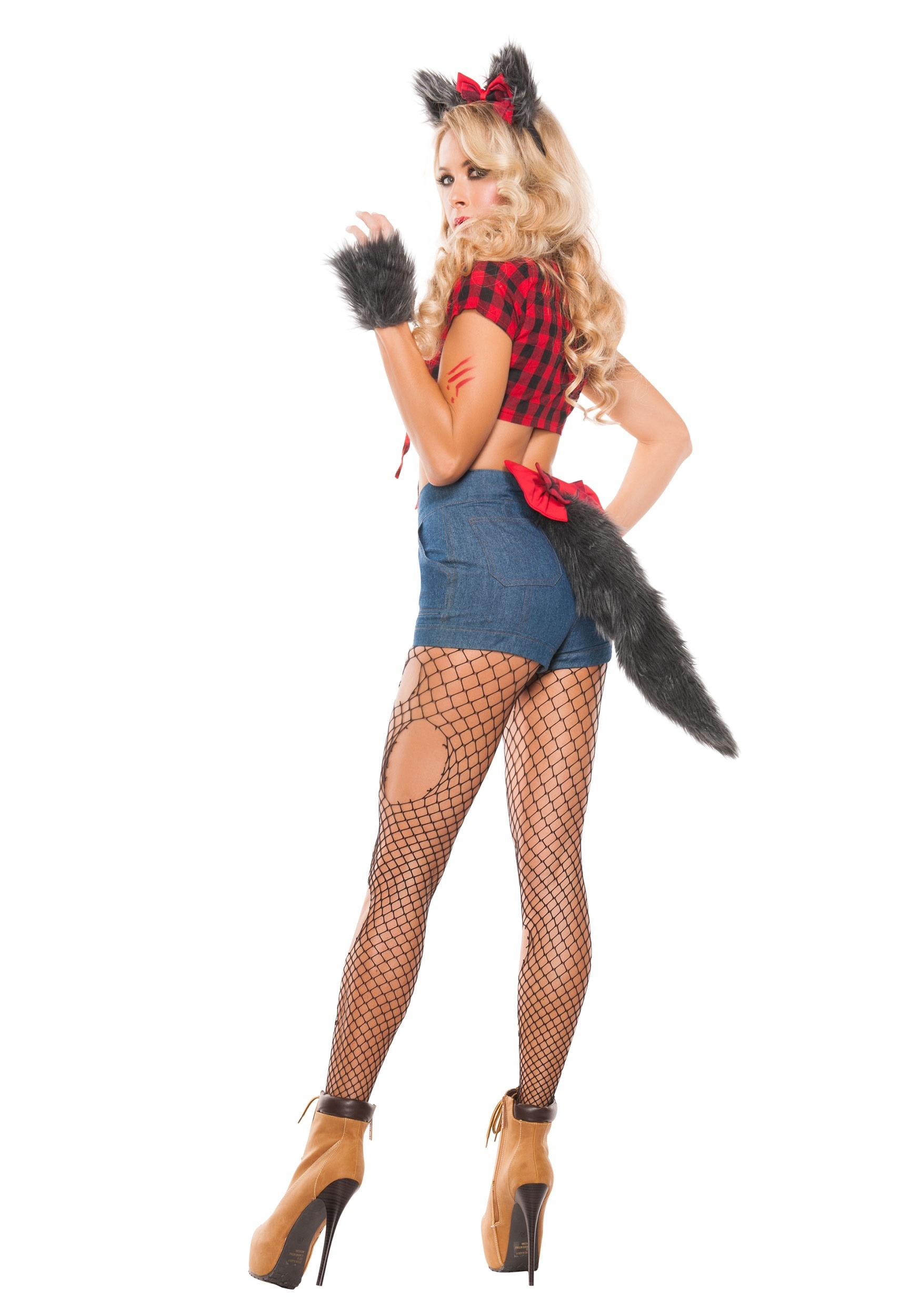 Womenu0027s Sexy Werewolf Costume Womenu0027s Sexy Werewolf Costume Alt 1  sc 1 st  Halloween Costumes & Sexy Werewolf Costume for Women