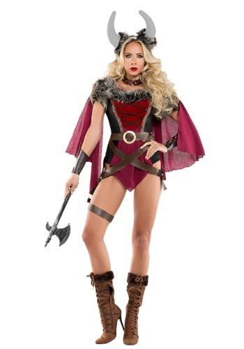 Click Here to buy Sexy Viking Womens Costume from HalloweenCostumes, CDN Funds