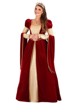 Women's Regal Renaissance Queen Costume
