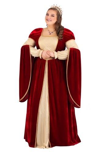 Women's Plus Size Regal Renaissance Queen Costume
