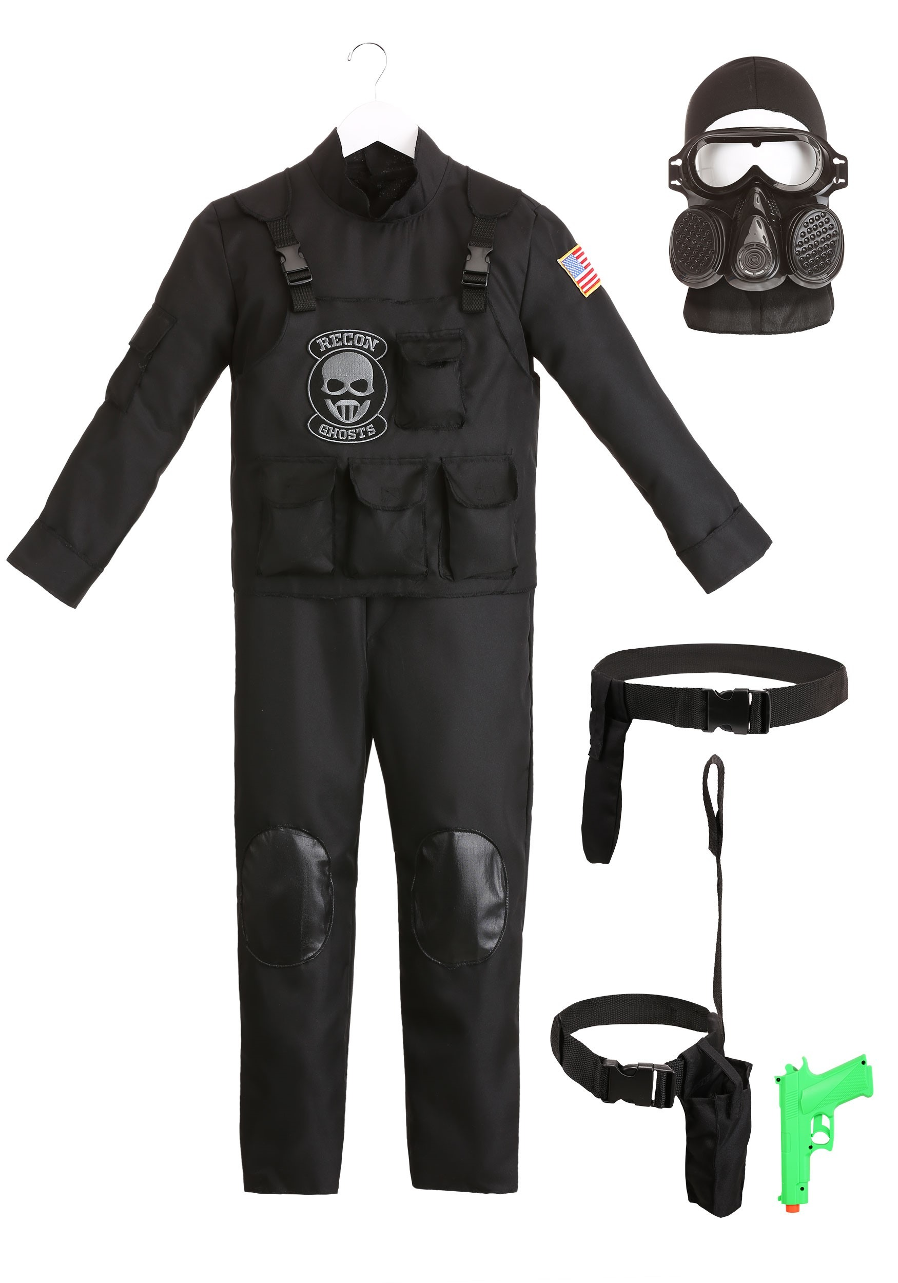 Small Childs Special Forces Costume