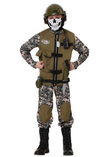 Click Here to buy Kids Camo Trooper Costume from HalloweenCostumes, CDN Funds